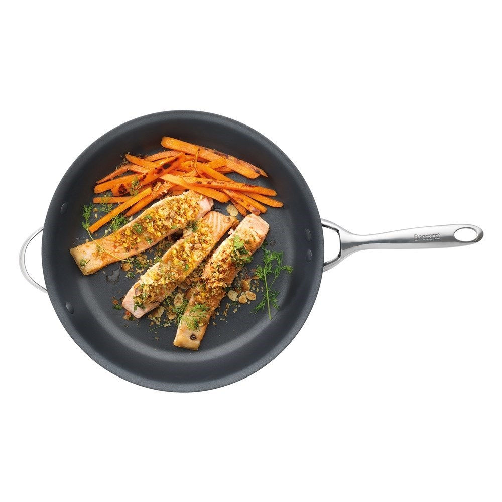Baccarat iD3 Hard Anodised Frypan with Helper Handle 32cm