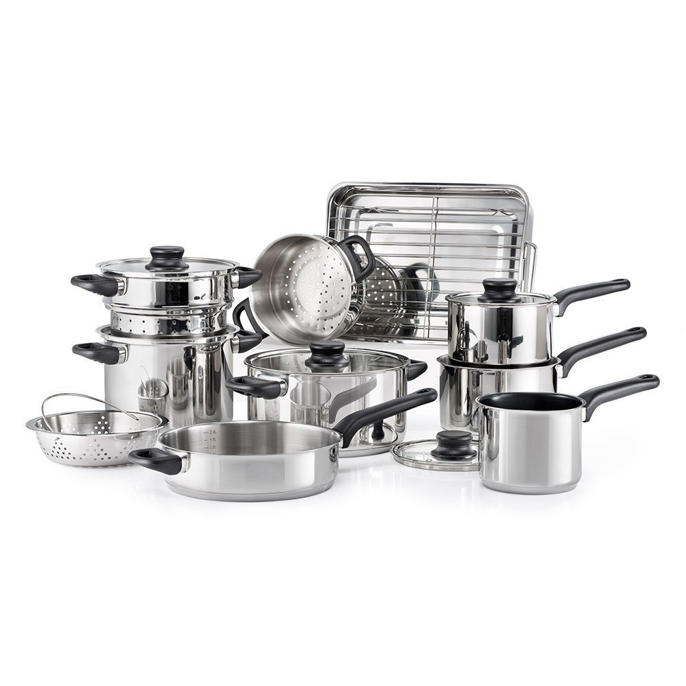 Baccarat Classic Stainless Steel 10 Piece Cookware Set