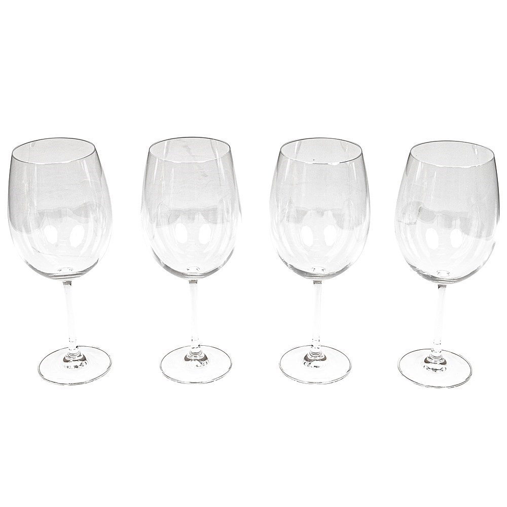 Alex Liddy Grand Cru Oversized Bordeaux Glass 850ml Set Of 4