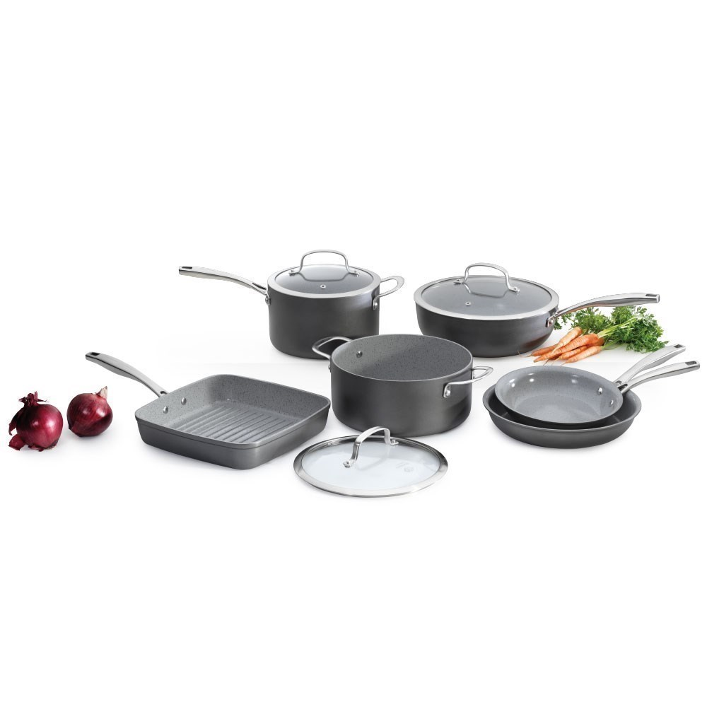 Cuisine::pro Swiss+Tec 6 Piece Ceramic Non Stick Cookware Set
