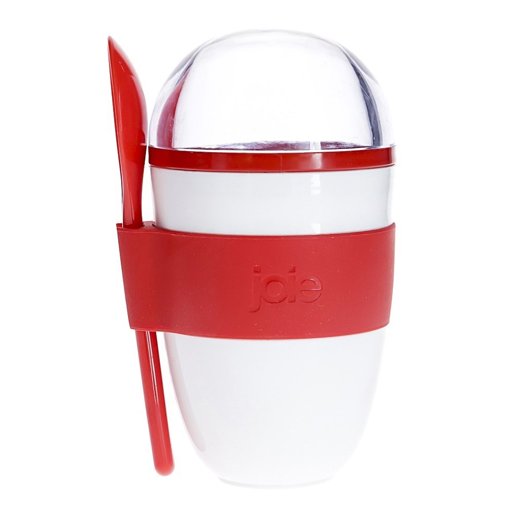 Joie Yoghurt On The Go 2-Part Container with Spoon