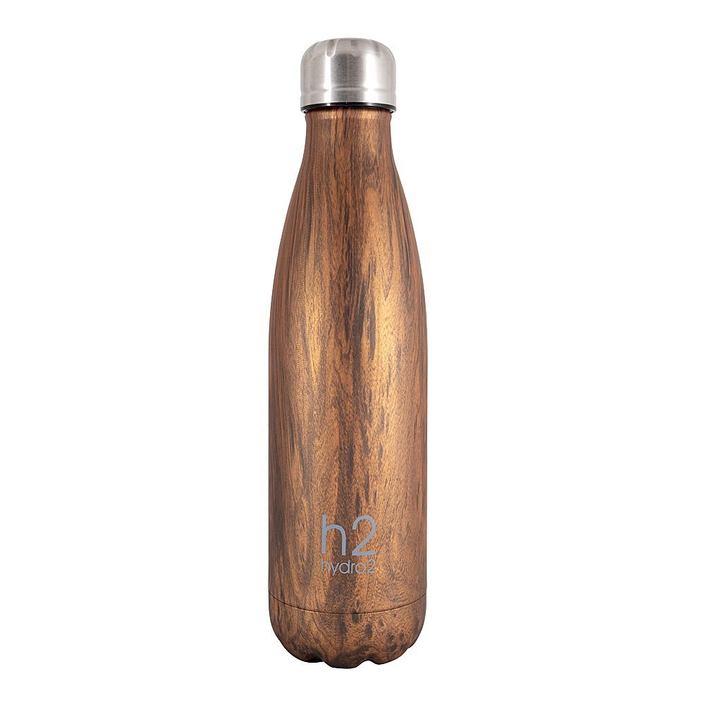 h2 hydro2 Double Wall Stainless Steel Water Bottle 500ml Bird