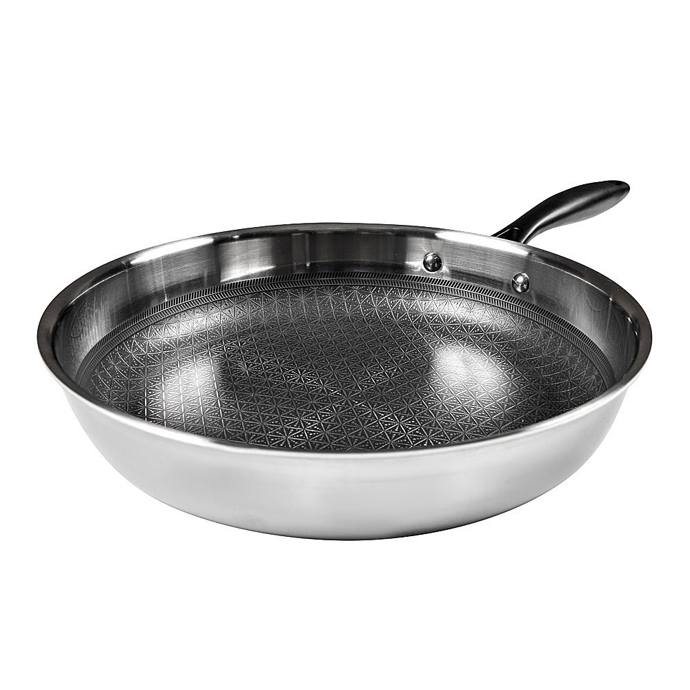 Baccarat Triton Stainless Steel Non-Stick Frypan 26cm