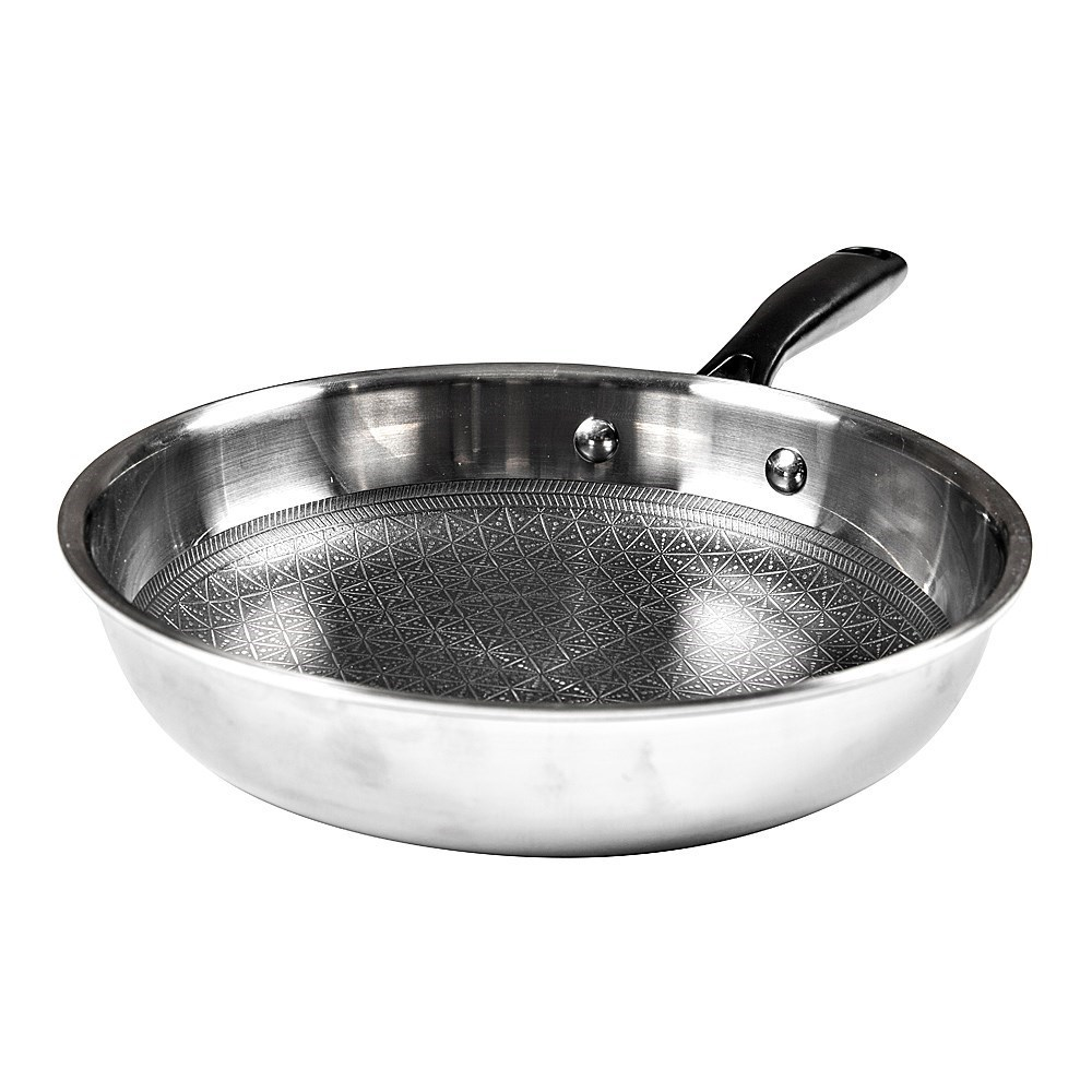 Baccarat Triton Stainless Steel Non-Stick Frypan 30cm