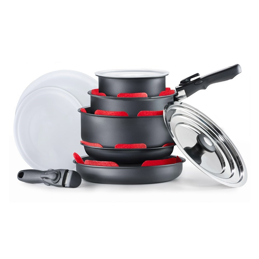 Cuisine::pro Summit Aluminium Stackable Non Stick 10 Piece Cookware Set