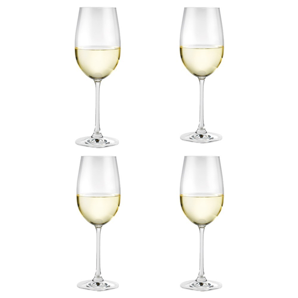 Alex Liddy Vina 4 Piece White Wine Glass Set 440ml