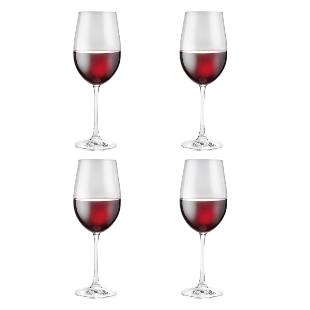 Alex Liddy Vina 4 Piece Red Wine Glass Set 530ml