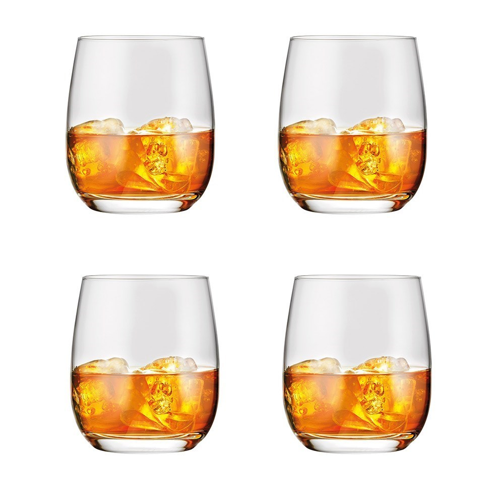 Alex Liddy Vina 4 Piece Double Old Fashioned Glass Set 460ml