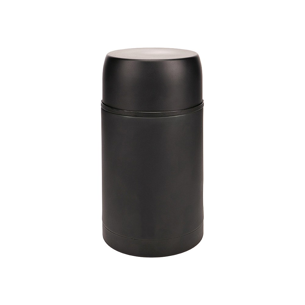 h2 hydro2 Togo Double Wall Stainless Steel Food Jar 800ml Black