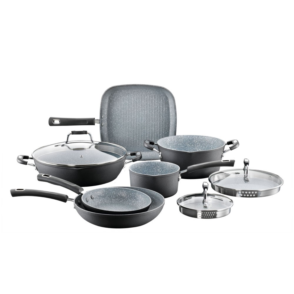 Baccarat Never Eva Stick Cookware Set 6 Piece