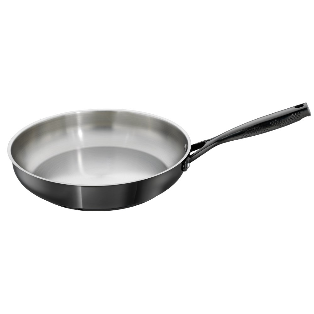 Baccarat iD3 Black Platinum Stainless Steel Frypan 30cm