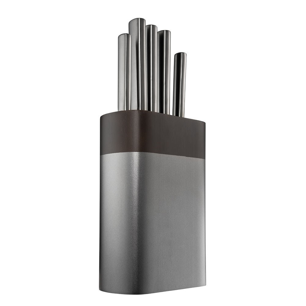 Baccarat Daisho Nara 6 Piece Japanese Steel Knife Block Graphite