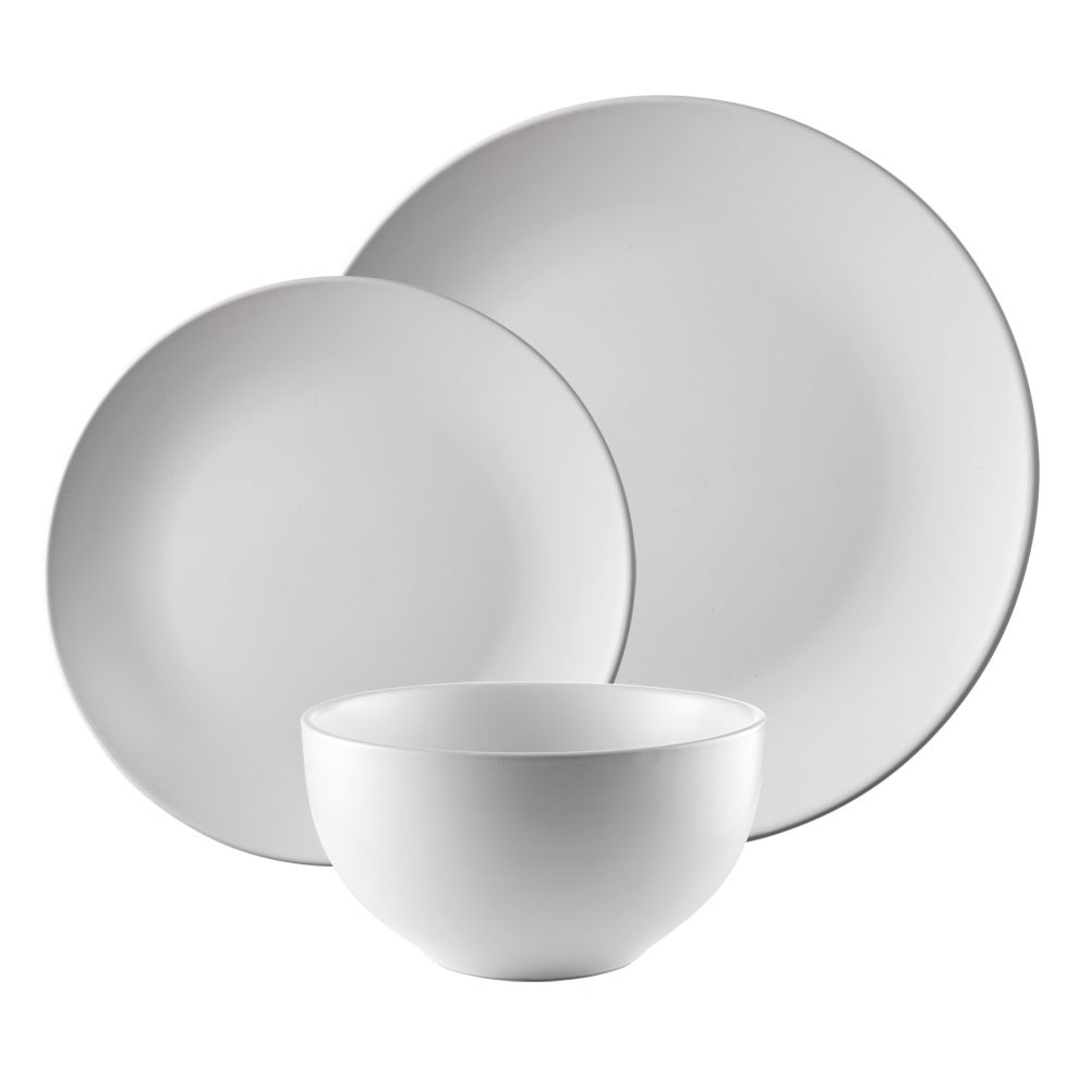 Alex Liddy Share Dinner Set 12 Piece White