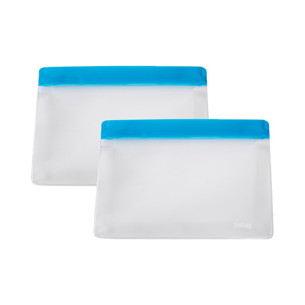 Scullery Eco Re Use 2 Piece Food Bag Set Medium