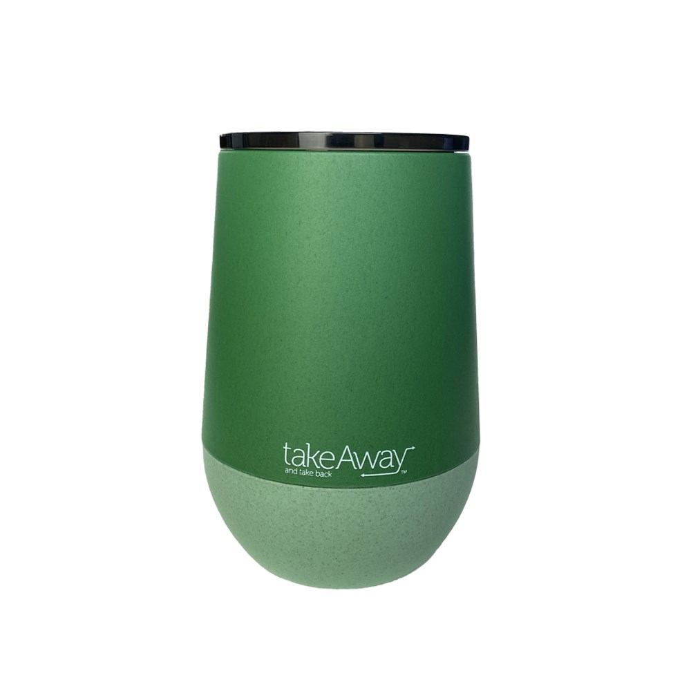 TakeAway Eco Kup Coffee Cup 400ml Forest