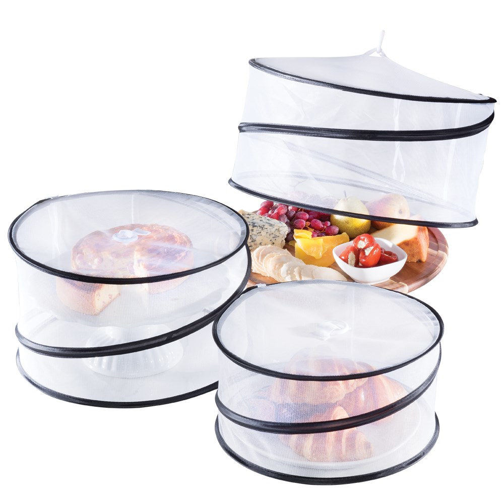 Scullery Set of 3 Pop Up Mesh Food Covers