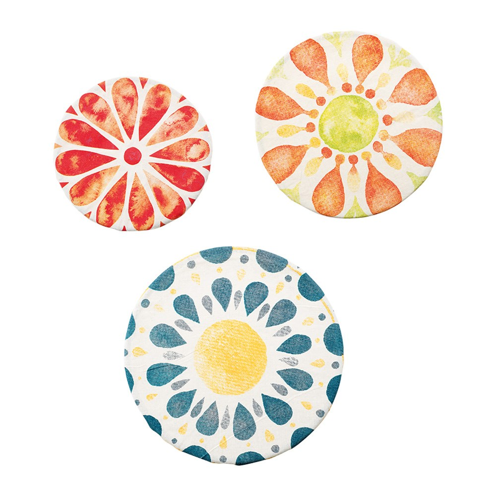 Scullery Re-Use Cotton Food Covers Set of 3