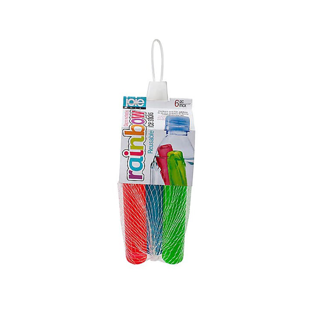Joie Rainbow Set of 6 Reusable Ice Sticks