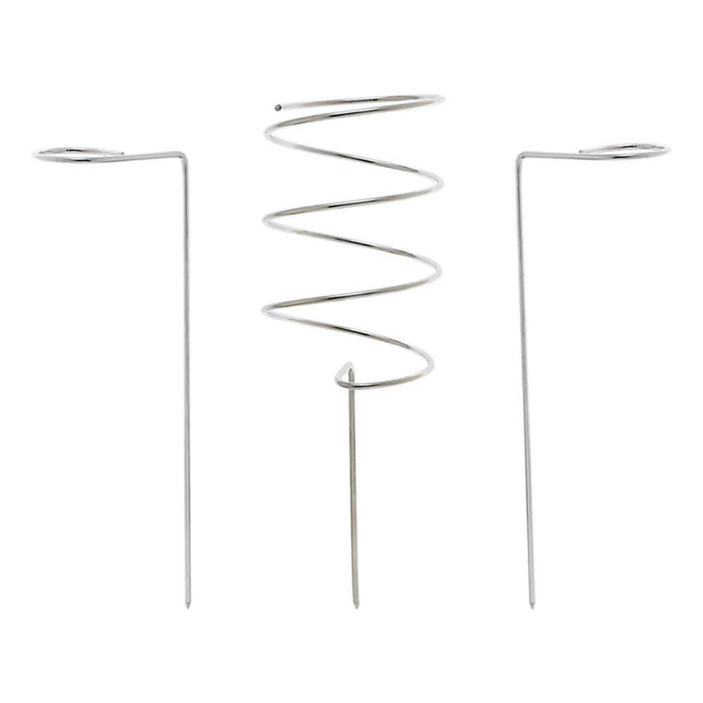 Alex Liddy Stainless Steel 3 Piece Picnic Wine Stakes Set