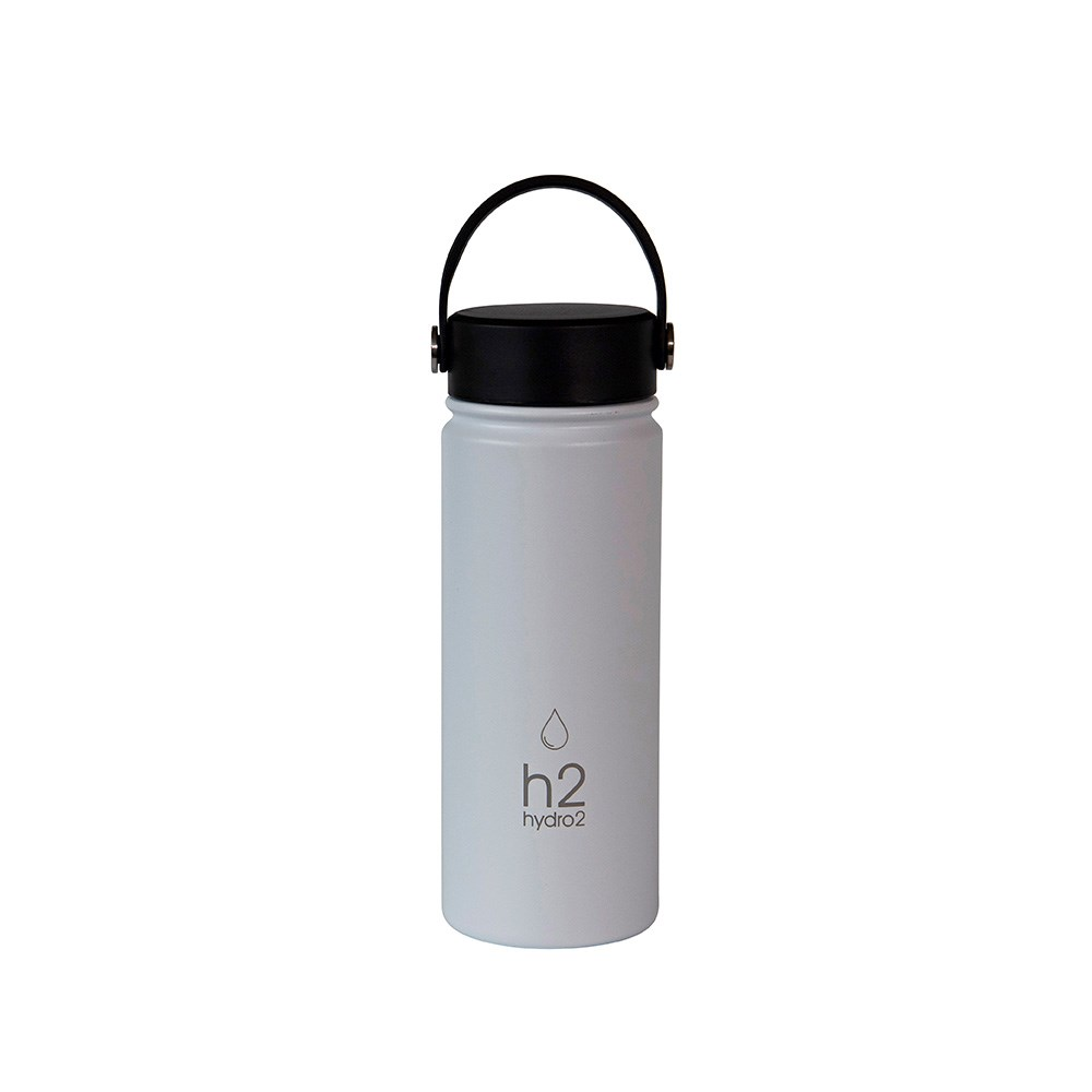 h2 hydro2 Flash Big Mouth Water Bottle 560ml Ice Blue