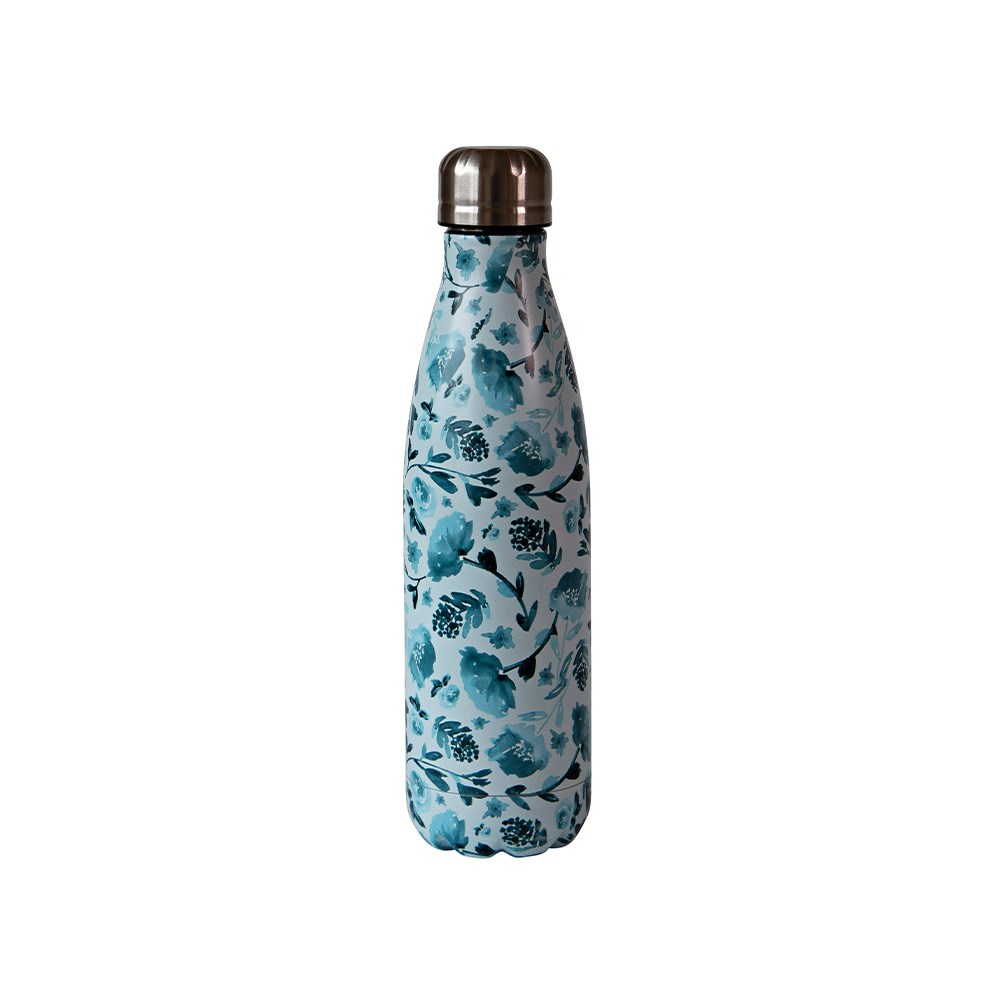 h2 hydro2 Quench Suma Double Wall Stainless Steel Water Bottle 500ml Bud
