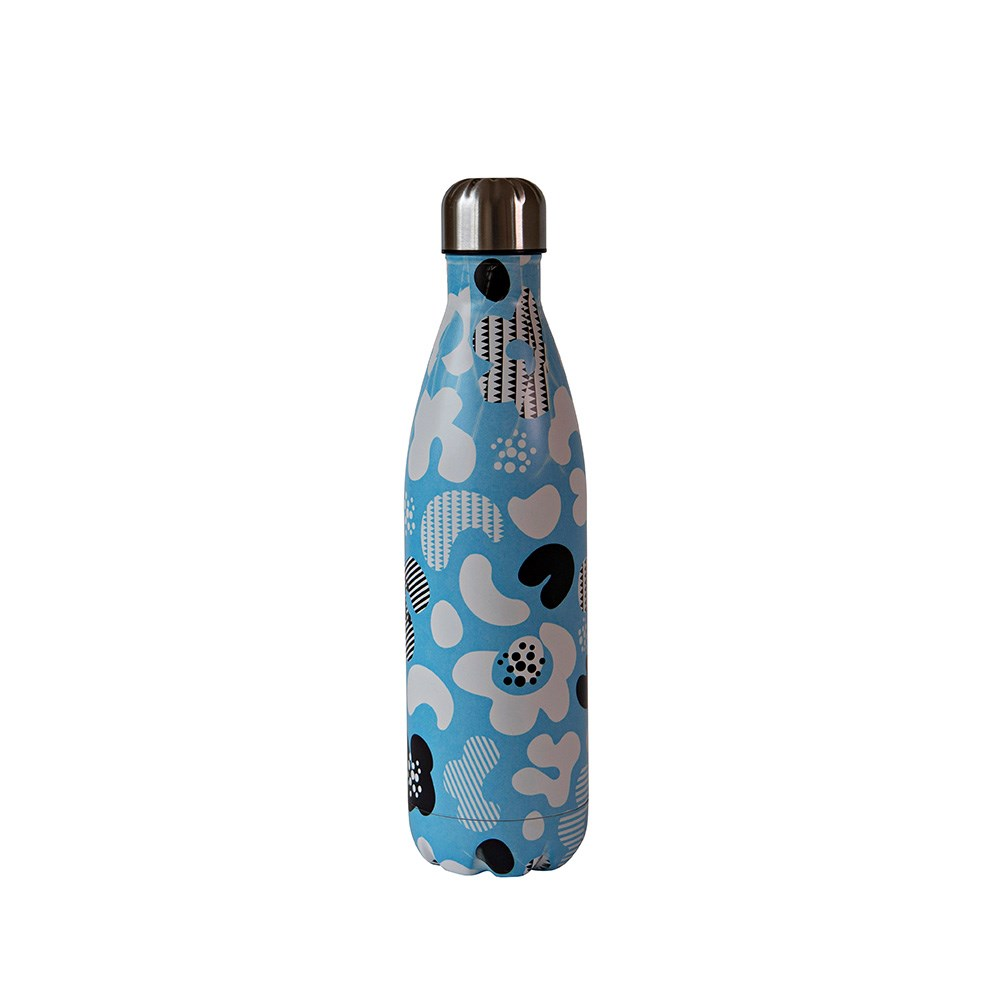 h2 hydro2 Quench Suma Double Wall Stainless Steel Water Bottle 750ml Sky