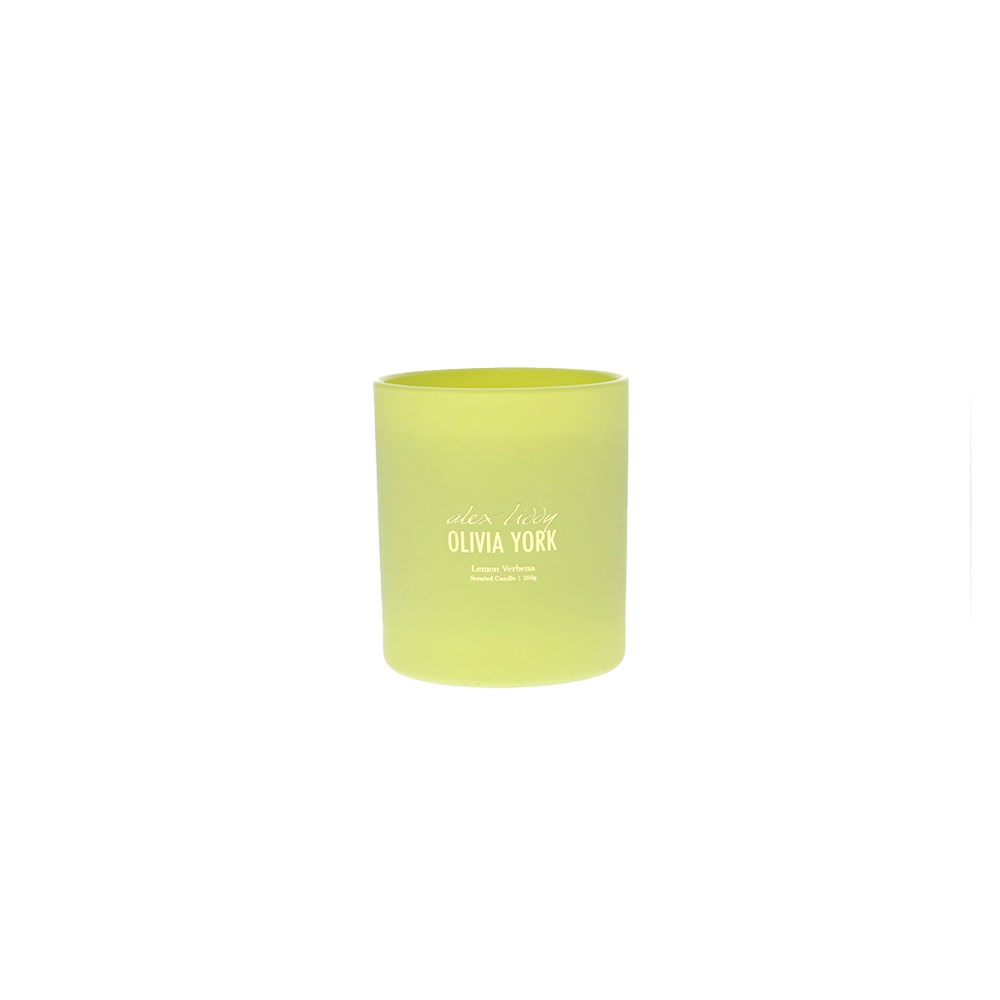 Alex Liddy Olivia York II Scented Candle Lemon Verbena 250g