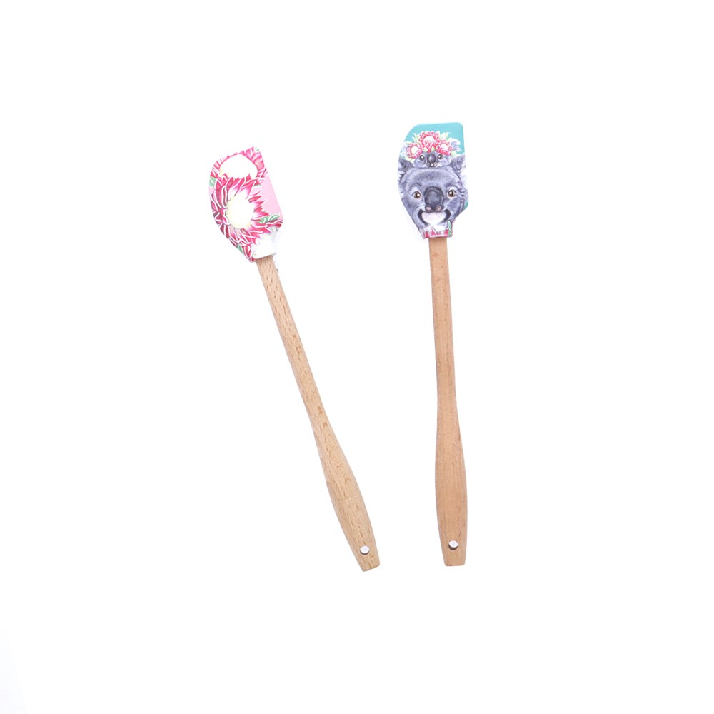 Alex Liddy Olivia York II Mini Silicone Spatula Set of 2 Koala