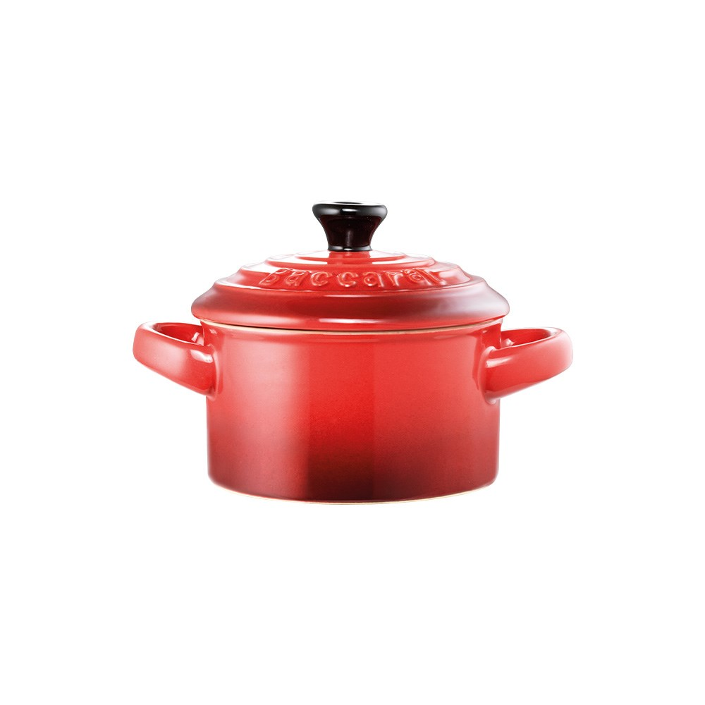 Baccarat Le Connoisseur Stoneware Mini Casserole with Lid 160ml Red