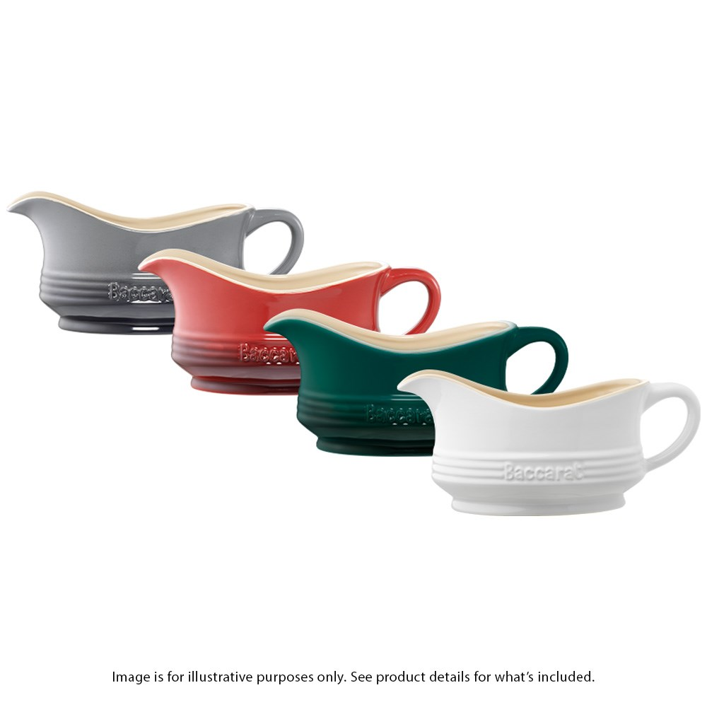 Baccarat Le Connoisseur Stoneware Gravy Boat 900ml Assorted Colour Dispatch