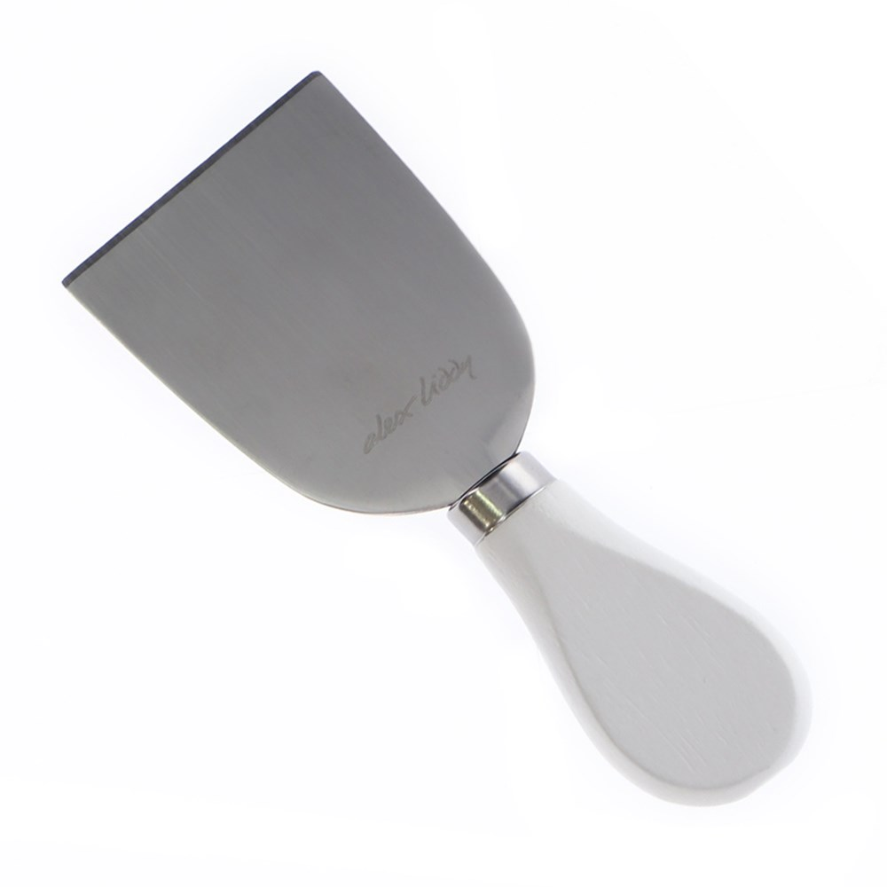Alex Liddy Slate & Co Flat Cheese Knife White