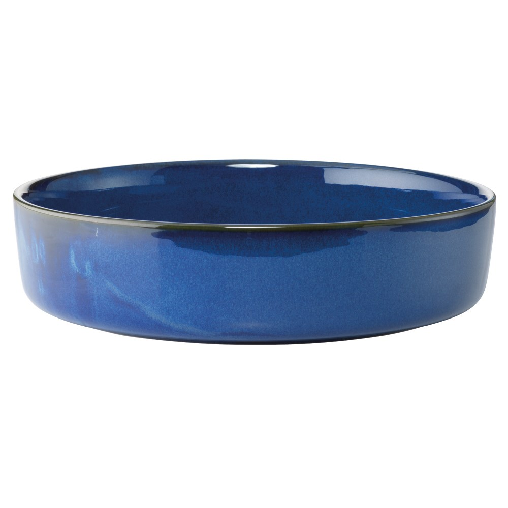 Alex Liddy Share Stoneware Salad Bowl 26cm Blue