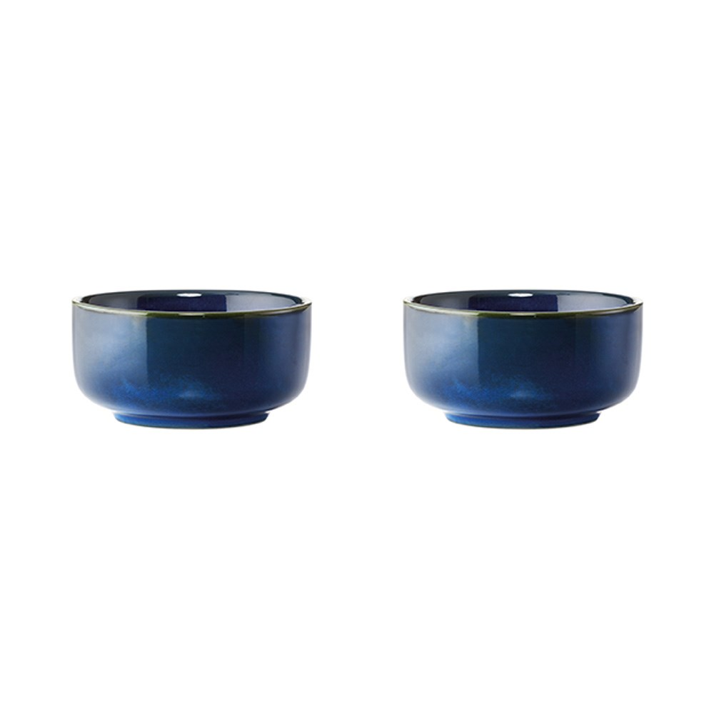 Alex Liddy Share 2 Piece Stoneware Serving Bowl Set 11cm Blue