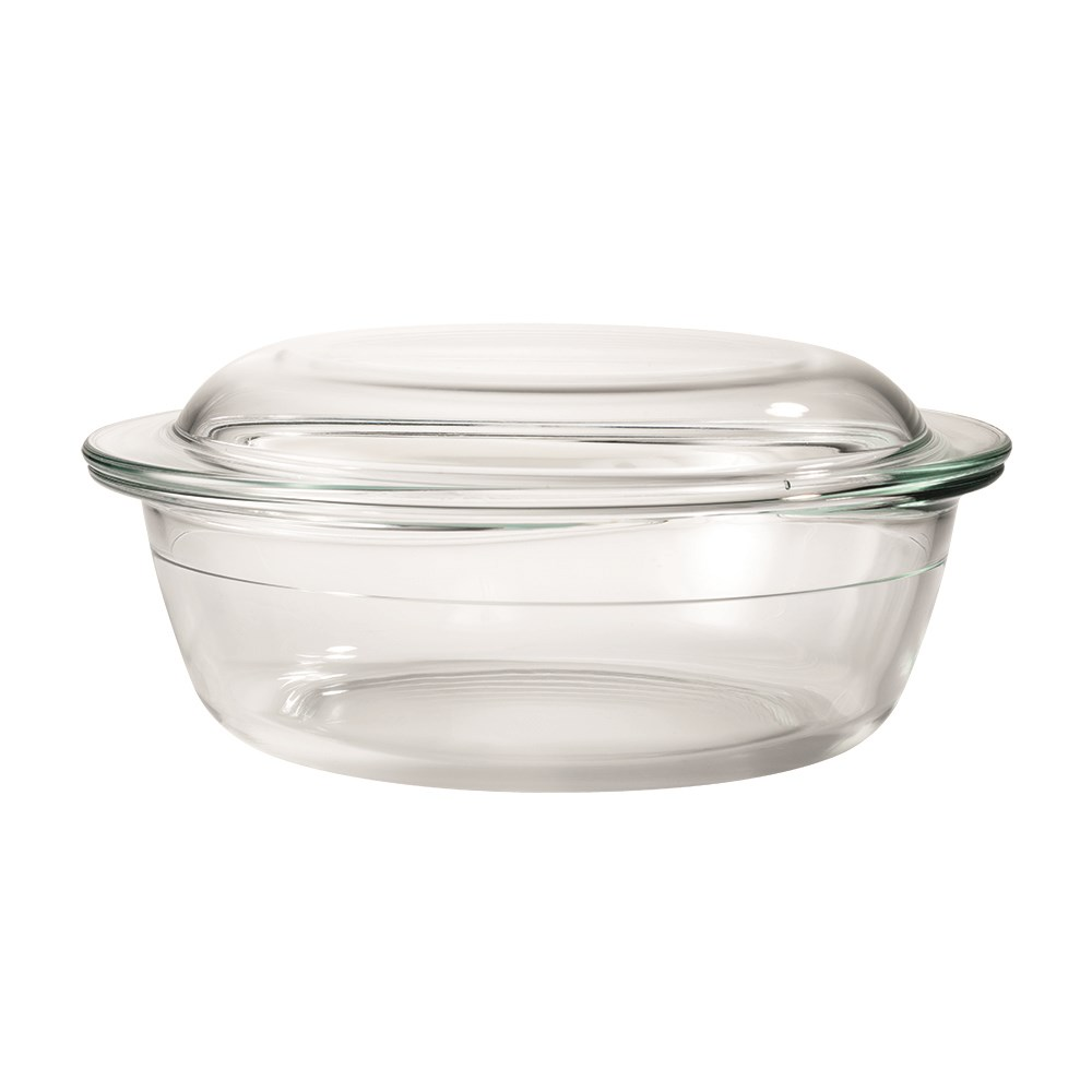 OvenBake Round Casserole with Lid 3L