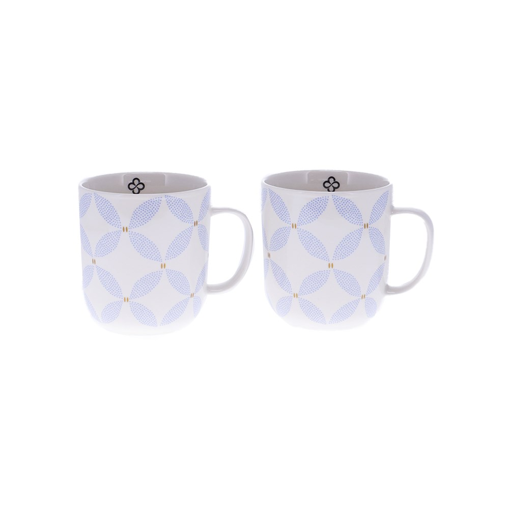 Marie Claire Jardin Champetre Set of 2 Mugs 410ml Clover