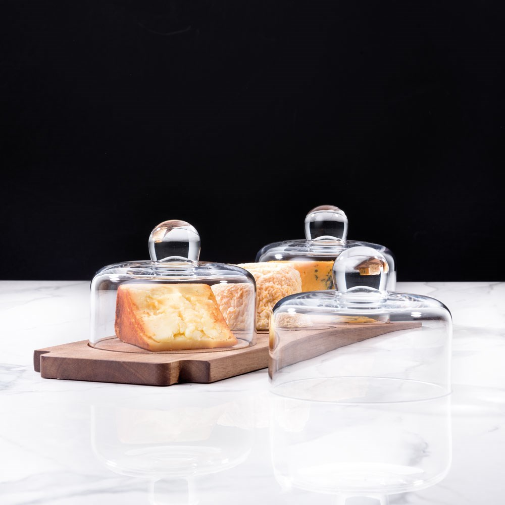 Alex Liddy Slate & Co Cheese Display Set with Acacia Board