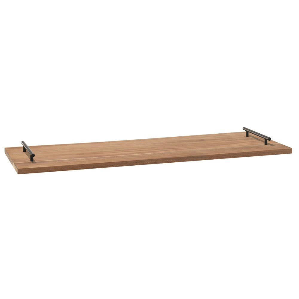 Alex Liddy Acacia Long Serving Board with Handle 1m