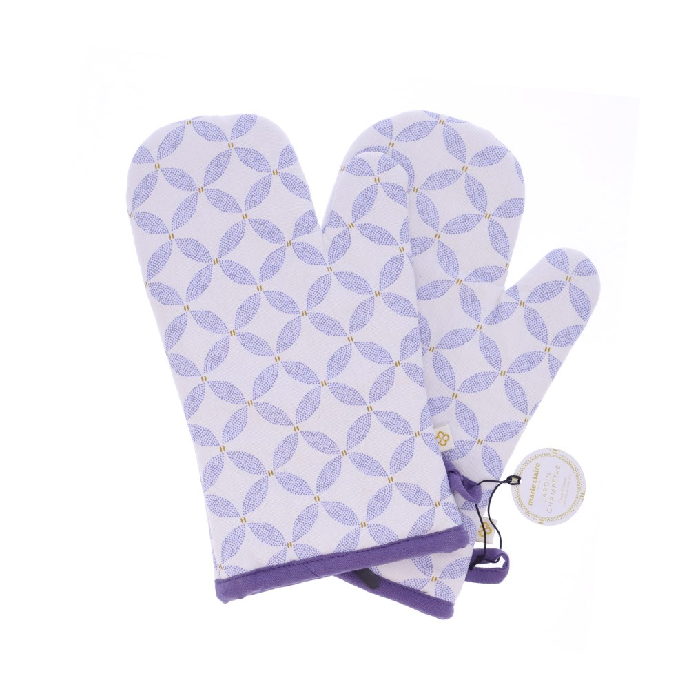 Marie Claire Jardin Champetre Oven Glove Set Clover