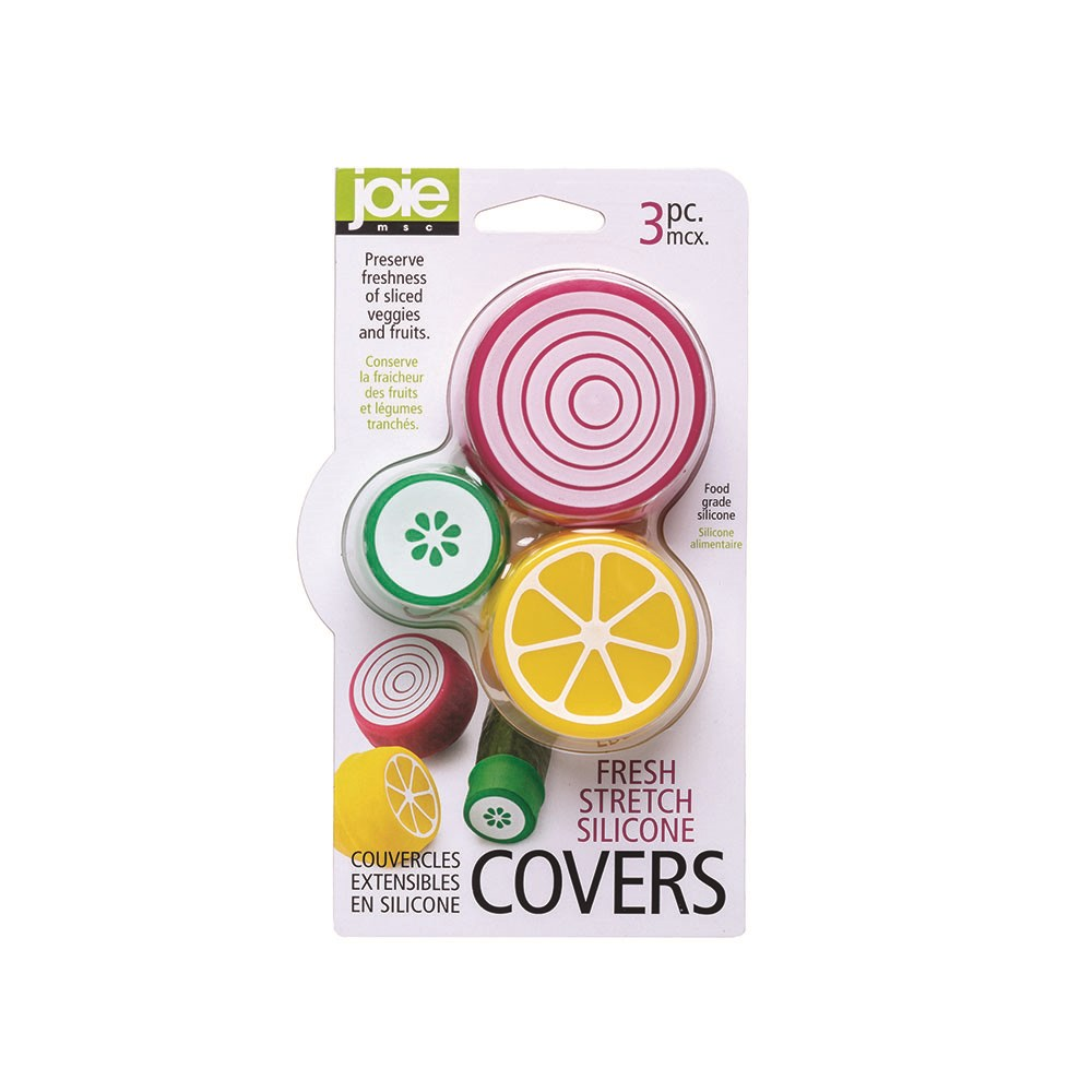 Joie Fresh 3 Piece Stretch Silicone Covers