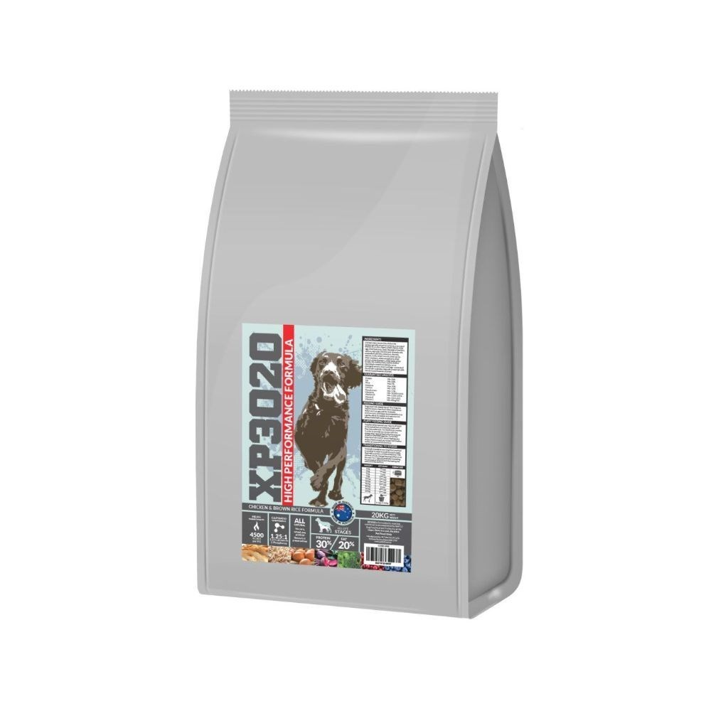 XP3020 All Life Stage Extra Premium Chicken & Brown Rice Dry Dog Food 20kg