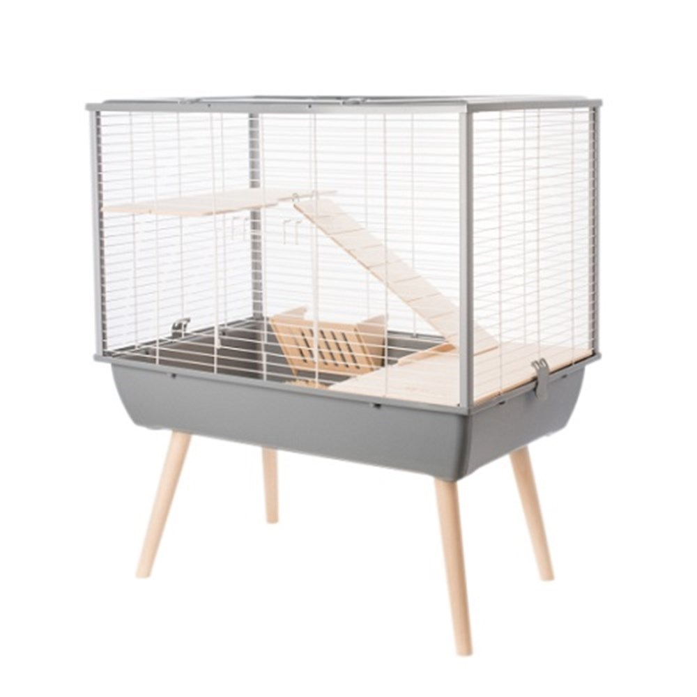 Zolux NEO Muki Small Animal Cage Grey