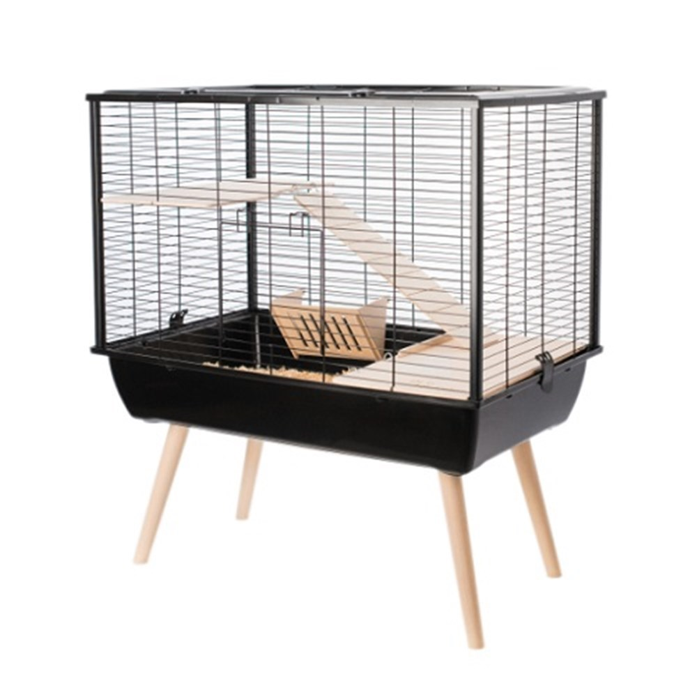 Zolux NEO Muki Small Animal Cage Black