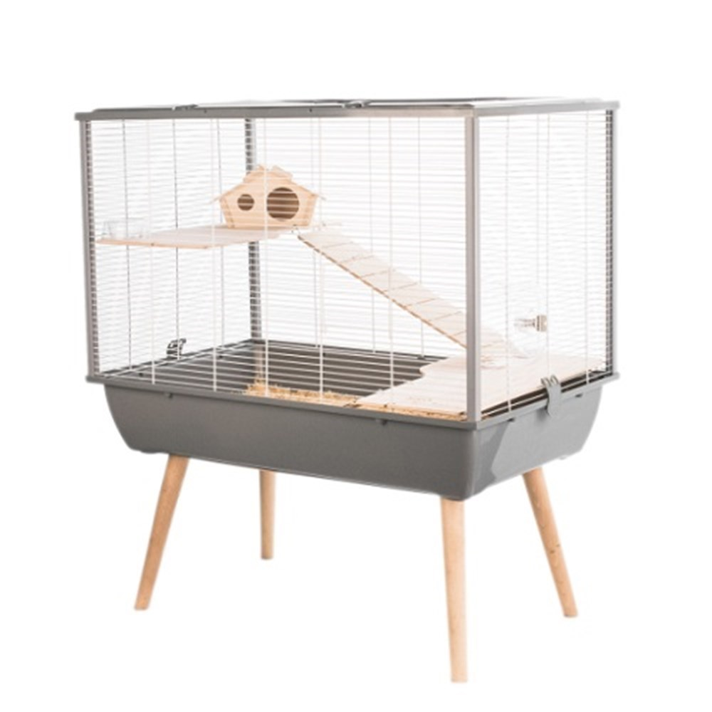 Zolux NEO Silta Small Animal Cage Grey