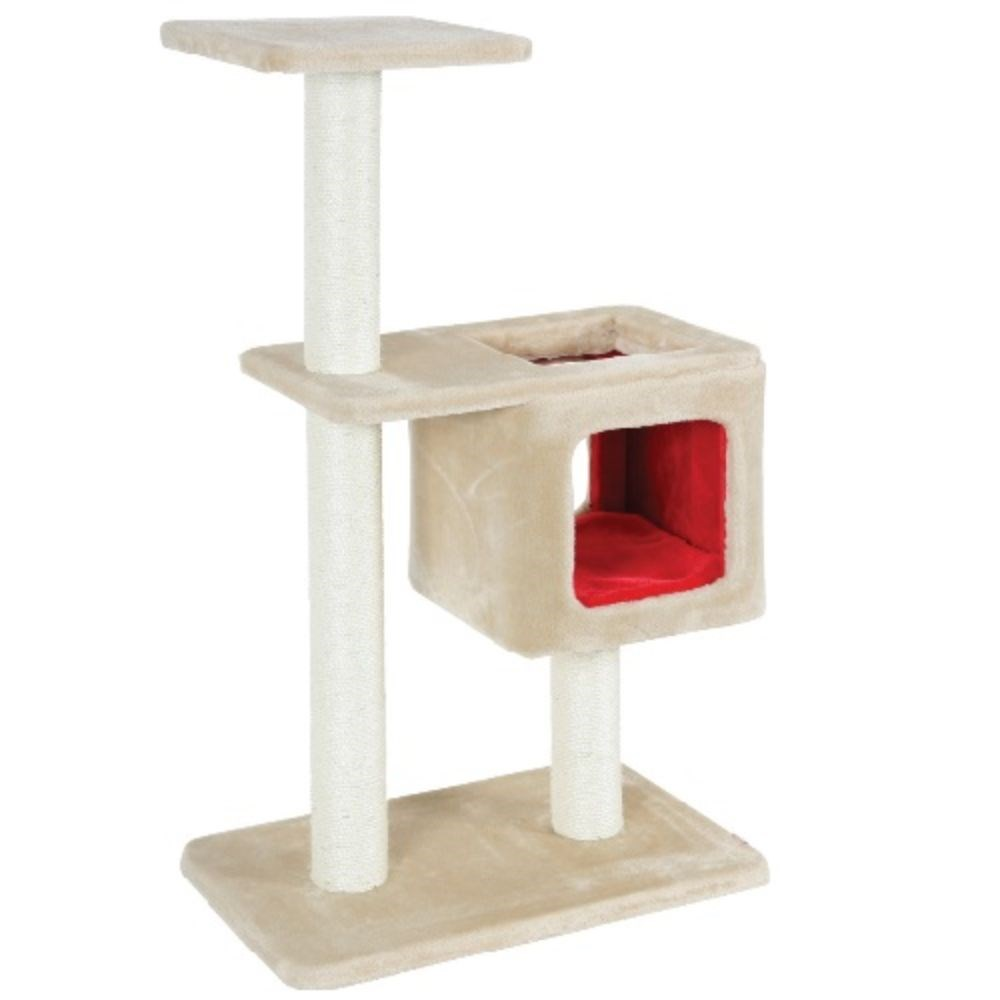 Zolux Cube & Post Cat Scratcher Beige