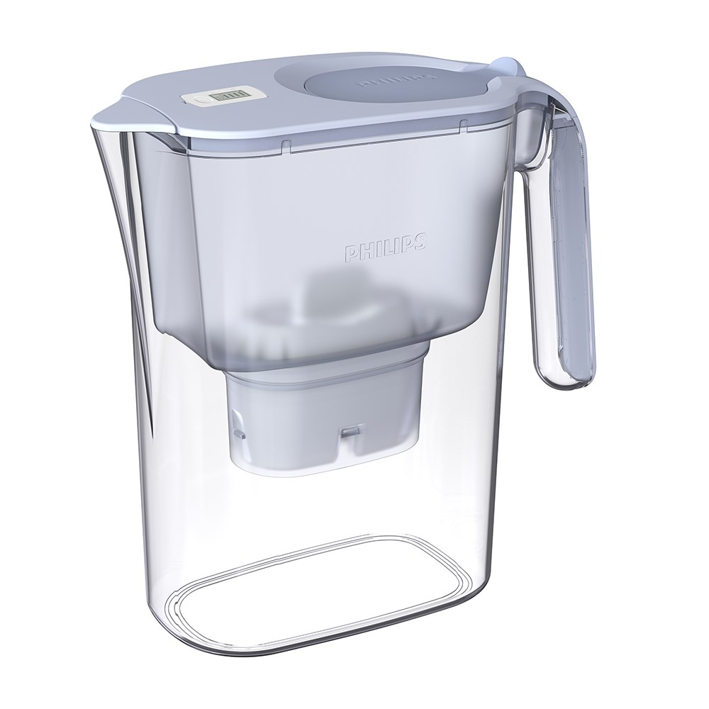 Philips Water Filter Jug Large 3L Blue