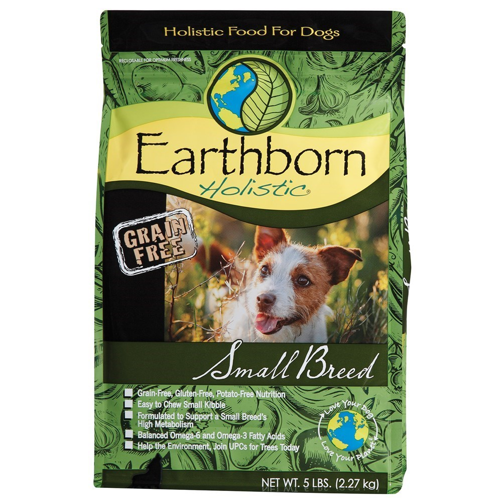 Earthborn Holistic 2.27kg Grain Free Small Breed Dog Food