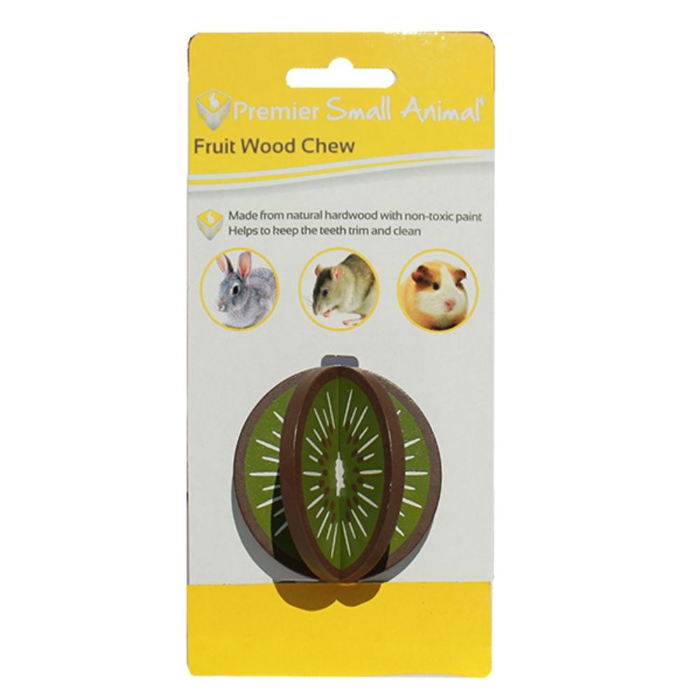 Premier Small Animal Wood Chew Kiwi 6cm