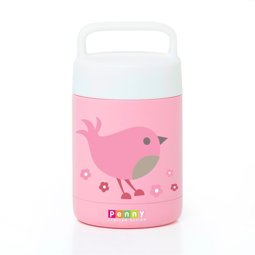 Penny Scallan Chirpy Bird Double Wall Vacuum Insulated Thermal Flask 350ml
