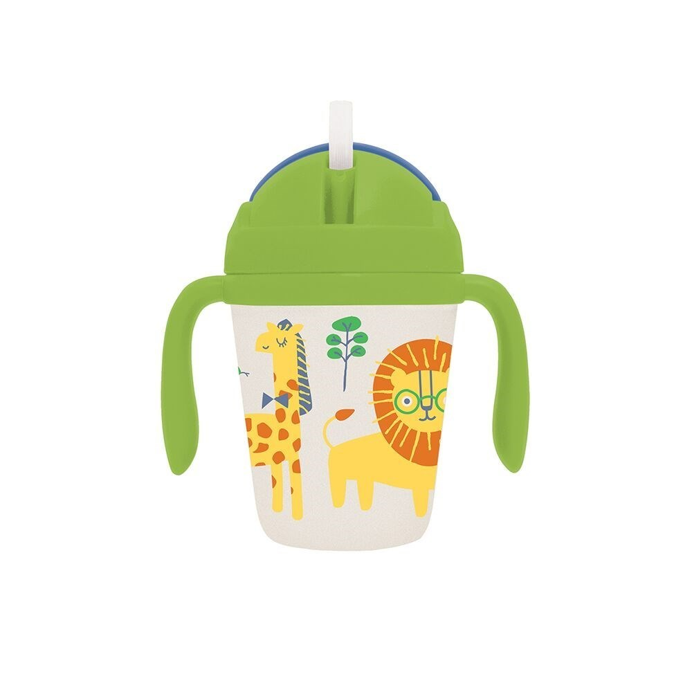 Penny Scallan Wild Thing Bamboo Sippy Cup with Weighted Straw 250ml