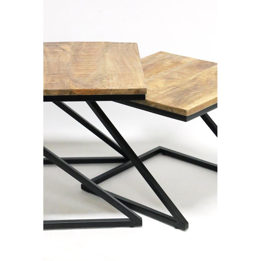 Stoneleigh & Roberson Zenith Set of 2 Nesting Side Tables